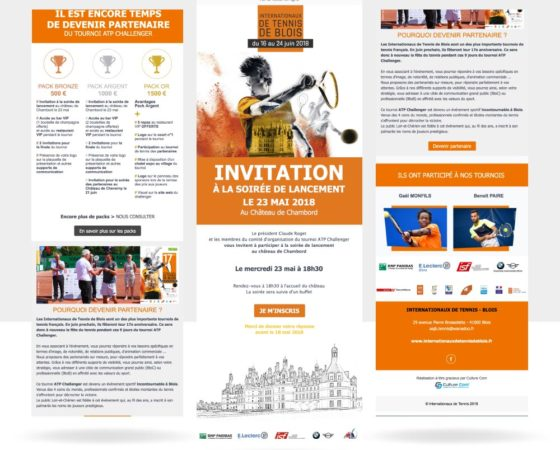 Newsletter – Internationaux de tennis de Blois