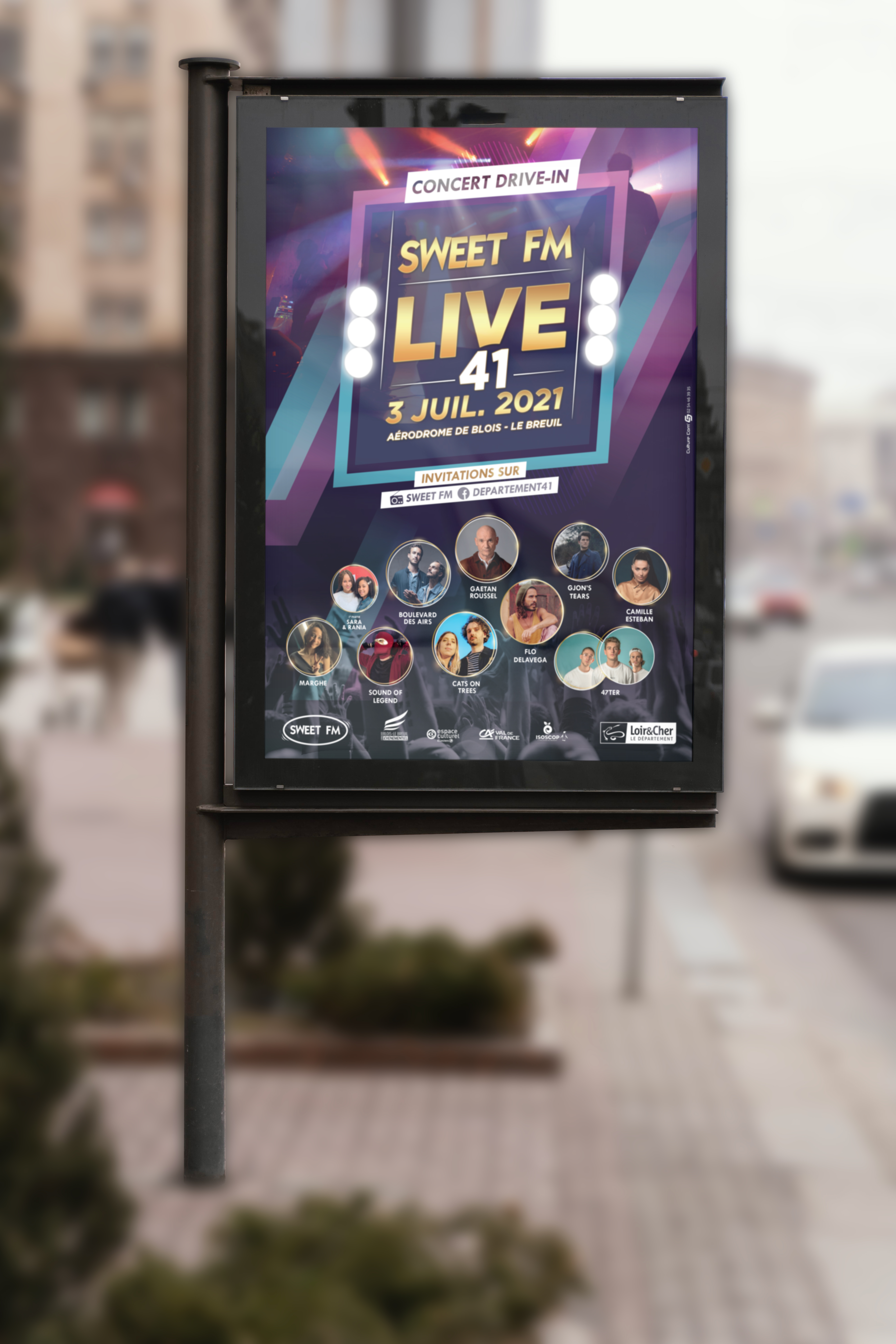 Sweet FM LIVE 41 affiche